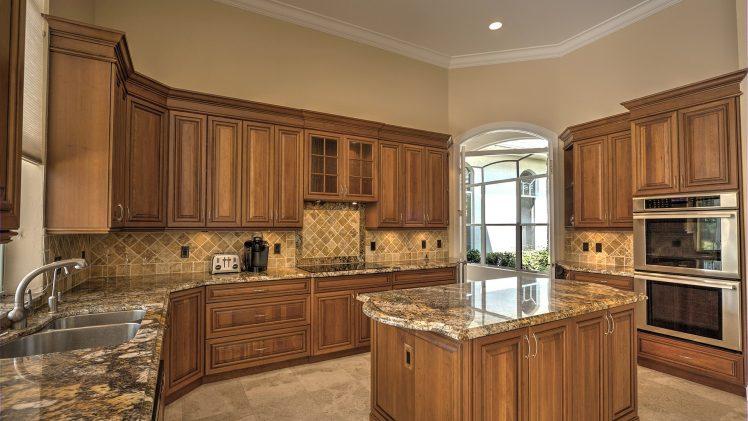granite worktop kitchen